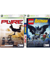 Pure + LEGO Batman - The Videogame (XBOX 360)