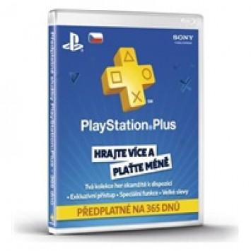 SONY PlayStation Plus Card 365 dní CZE
