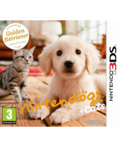 Nintendogs + Cats - Golden Retriever and New Friends (3DS)