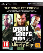 Grand Theft Auto 4 (GTA 4) - The Complete Edition (PS3)