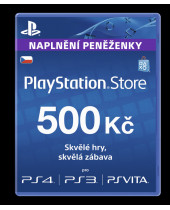 PlayStation Network Card (PSN Karta) 500 Kč