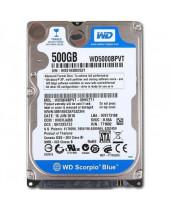 Western Digital 2,5 HDD Scorpio Blue 500GB