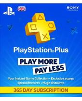 SONY PlayStation Plus Card 365 dní UK (digitálny produkt)