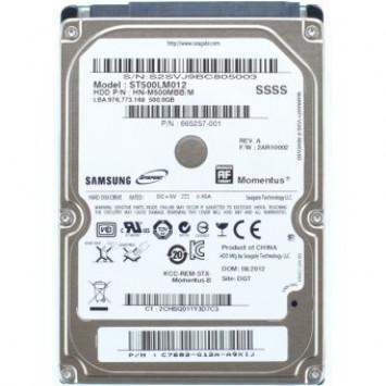 Seagate 2,5 HDD Momentus 500GB