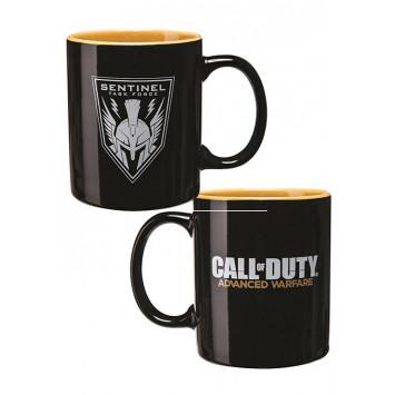 Call of Duty hrnček Warfare logo