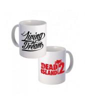 Dead Island hrnček Living the Dream
