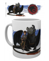 How to Train Your Dragon hrnček Toothless