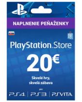 PlayStation Network Karta 20€ pre Slovenský PSN účet (krabicová verzia)