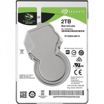 Seagate 2,5 HDD BarraCuda 2TB