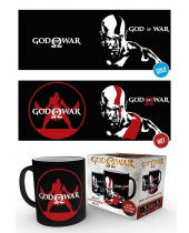 God of War Heat Change Mug Kratos