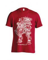 Titanfall 2 - Titan Scorch Line Art (T-Shirt)