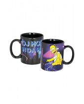 Simpsons hrnček DJ Homey