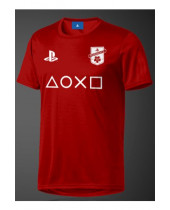 PlayStation eSport Functional Gear - F.C Red (T-Shirt)