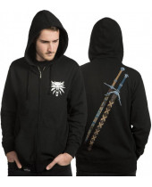 Witcher - Steel and Silver mikina