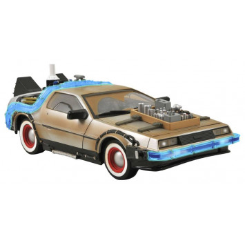 Back to the Future III Model DeLorean 36 cm