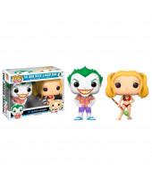 Pop! Heroes - DC Comics - 2-Pack Beach Joker and Harley