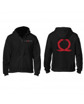 God of War Hooded Sweater Serpent Logo
