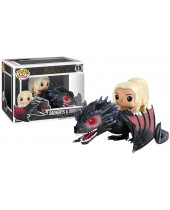 Pop! Game of Thrones - Daenerys and Drogon Super Sized 18 cm