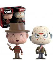 Freddy vs. Jason VYNL - Vinyl Horor Figures 2 pack 10 cm