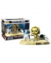 Pop! Star Wars - Escape Pod Landing Movie Moments - 2-Pack (Bobble-Head)