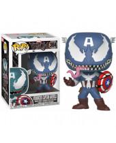 Pop! Marvel - Venom - Venomized Captain America (Bobble-Head)