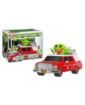 Pop! Rides - Ghostbusters - Ecto 1 with Slimer 2016 SDCC Exclusive