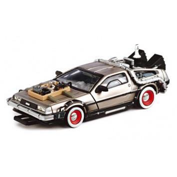 Back to the Future III Diecast Model 1/43 DMC DeLorean