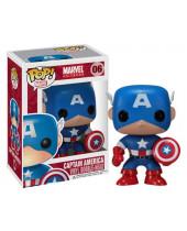 Pop! Marvel Comics - Captain America (Bobble Head)