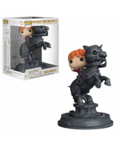 Pop! Movies - Harry Potter - Ron Riding Chess Piece Moments Super Sized 21 cm