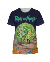 Rick and Morty - Jumbo Portal (T-Shirt)