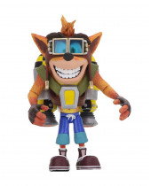 Crash Bandicoot Deluxe akčná figúrka Crash with Jetpack 14 cm