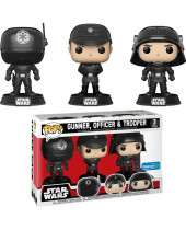 Pop! Star Wars - Gunner and Officer and Trooper - 3-Pack