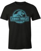 Jurassic Park Blue Logo (T-Shirt)