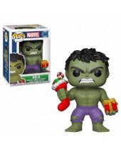 Pop! Marvel Comics - Hulk Holiday (Bobble Head)