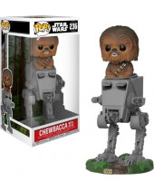Pop! Star Wars - Chewbacca with AT-ST Deluxe (Super Sized, 15cm)