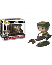 Pop! Star Wars - Leia with Speeder Bike