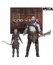 God of War 2018 Ultimate akčné figúrky 2-Pack Kratos and Atreus 13-18 cm