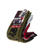 Ponožky Mafia 3 - Military a Logo