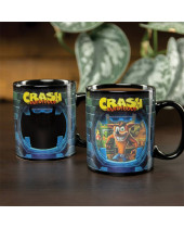 Crash Bandicoot Heat Change hrnček Crash Bandicoot