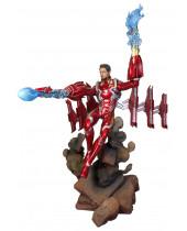 Avengers Infinity War Marvel Movie Gallery PVC socha Iron Man MK50 Unmasked 23 cm
