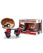 Pop! Disney - Incredibles 2 - Elastigirl on Elasticycle Super Sized 15 cm