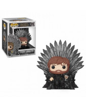 Pop! Game of Thrones - Tyrion Sitting on Iron Throne Deluxe Super Sized 15 cm