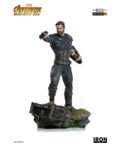 Avengers Infinity War BDS Art Scale socha 1/10 Captain America 23 cm