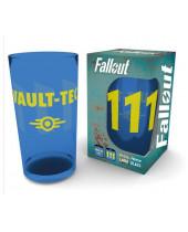 Fallout Premium Pint Glass Vault 111