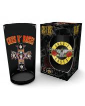 Guns N Roses Premium Pint Glass Logo