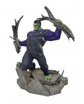 Avengers Endgame Marvel Movie Gallery PVC Diorama Tracksuit Hulk 23 cm