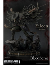 Bloodborne The Old Hunters socha Eileen The Crow 70 cm
