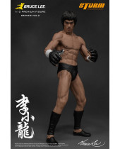 Bruce Lee The Martial Artist Series No. 2 socha 1/12 Bruce Lee (Iconic MMA Outfit) 19 cm
