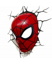 Marvel 3D LED lampa Spiderman