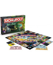 Rick and Morty stolová hra Monopoly (English Version)